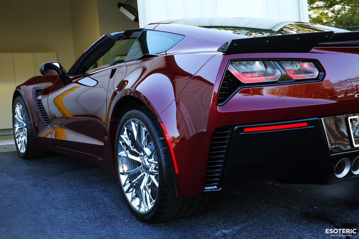 Z06 Corvette Spice Red Kamikaze Collection Usa